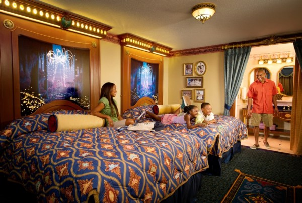 Royal Guest Rooms - Photo by Disney