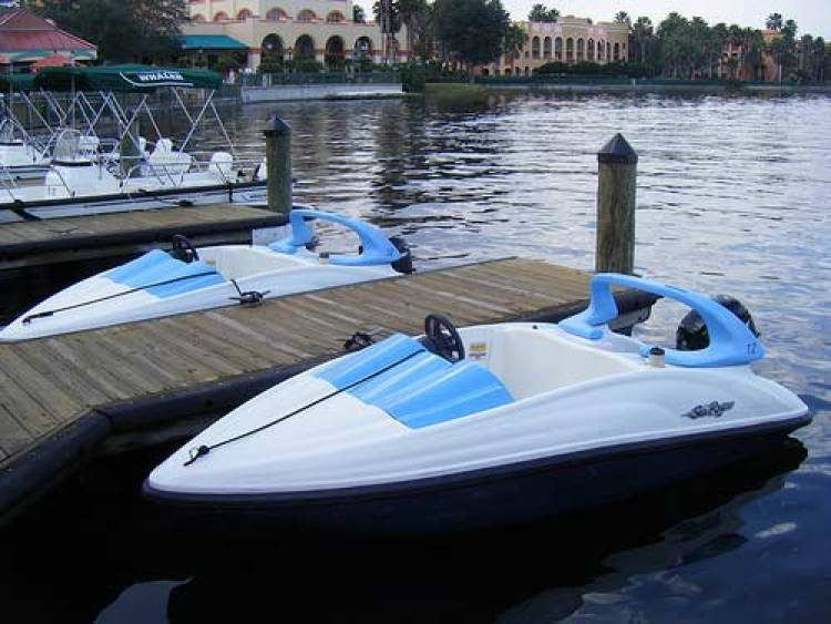Renting Sea Raycers in Disney is the ultimate thrill.