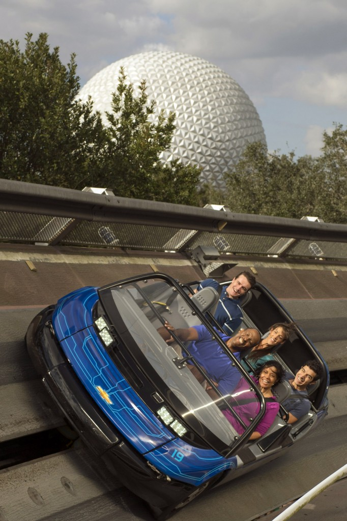 Test Track by Chevrolet - Photo by Kent Phillips / Disney