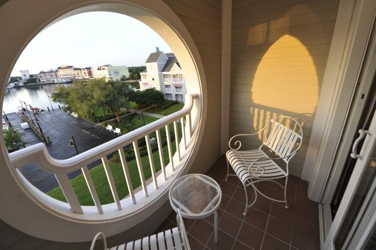 Balcony. Photo by Disney