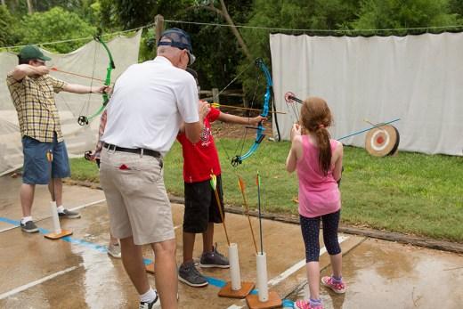 Archery Lessons - Photo by Disney Parks