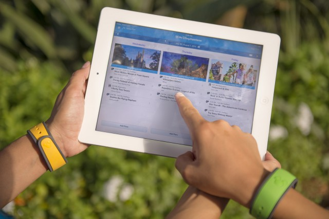Guests can utilize MDE on their iPads through Walt Disney World Resort