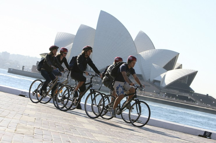 Adventures by Disney Bicycling in Australia - Photo by Disney