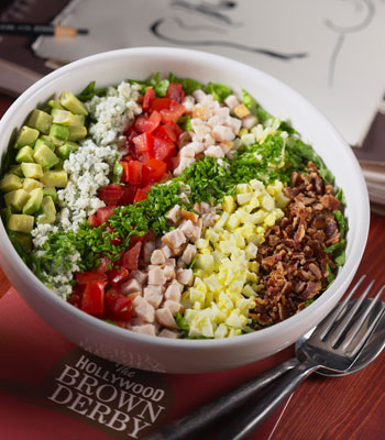 The famous Brown Derby Cobb Salad