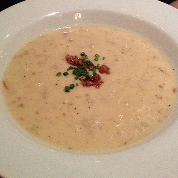 Le Cellier's famous Cheddar Cheese Soup
