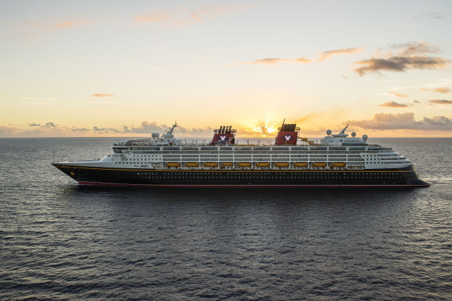 The Disney Magic at Sea- Photographer Matt Stroshane / Disney Parks