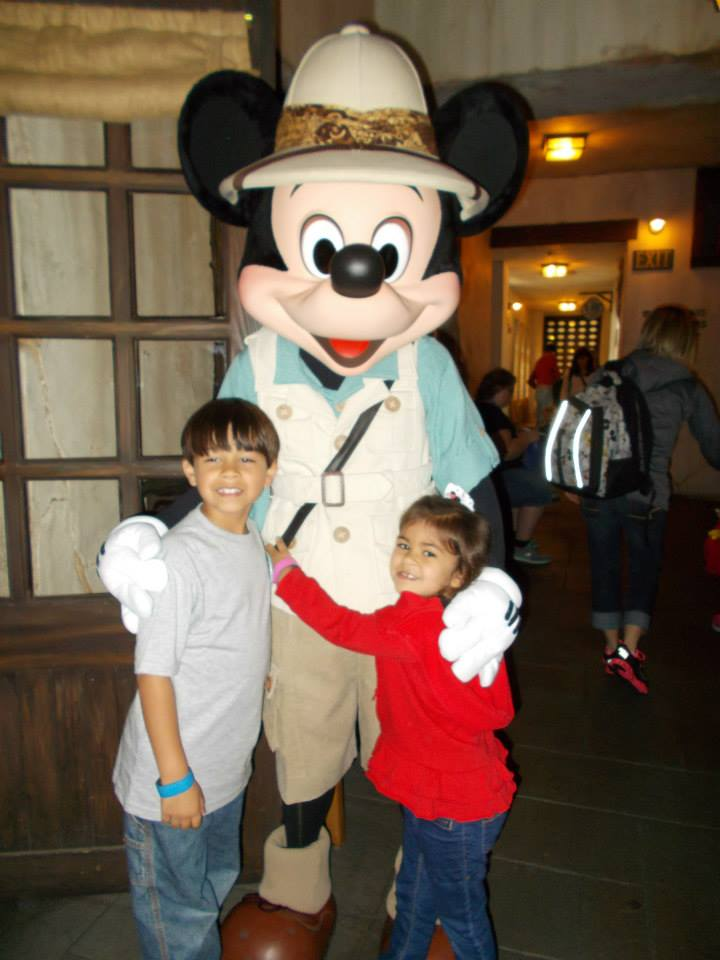 Mickey Mouse at Tusker House - Photo submitted by MaryBeth