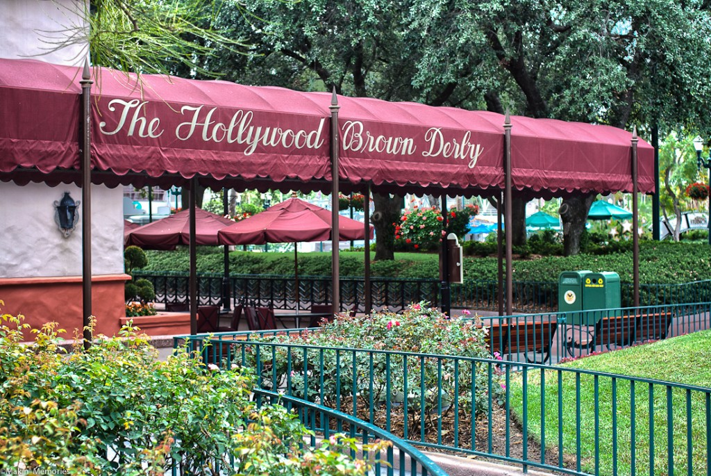 The Hollywood Brown Derby is found in Hollywood Studios