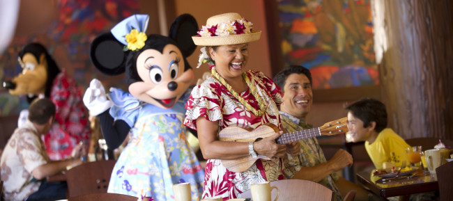 """AUNTY'S BREAKFAST CELEBRATION AT THE MAKAHIKI""- Image by Matt Stroshane/Disney Destinations"