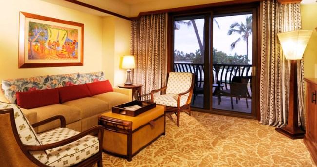 1 Bedroom Villa - Image courtesy of Aulani