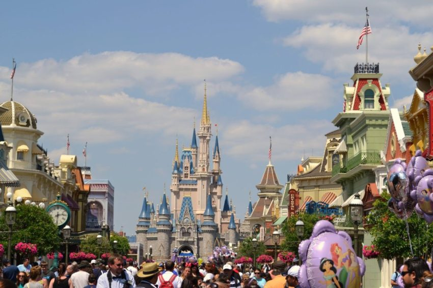 Cinderella's Castle from Main Street U.S.A. - Photo by Ginny Ford
