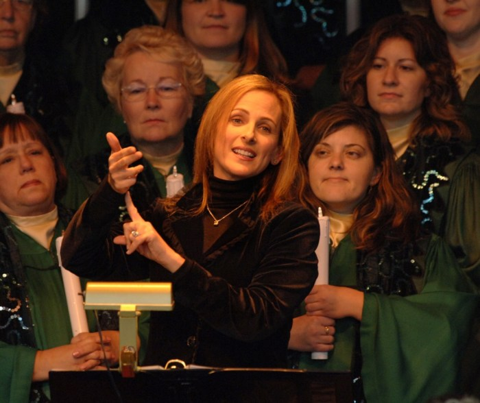 Marlee Matlin Celebrity Narrator - Photo by Gene Duncan / Disney