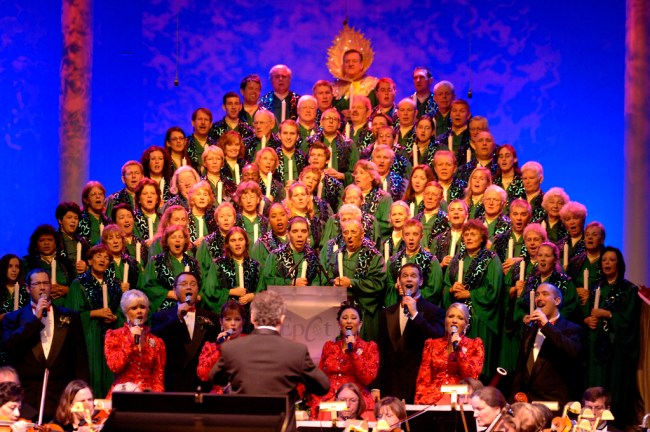 Candlelight Processional - Photo by Disney Parks