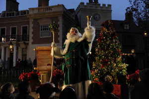 Father Christmas in the United Kingdom - Photo by Disney Parks
