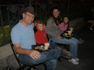 Disneyland Fantasmic Dessert Party Family