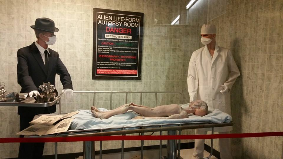 Alien Autopsy Exhibit