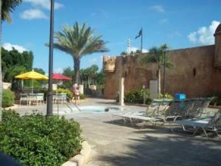 Disney's Caribbean Beach Resort Hot Tub-Photo Credit Lisa McBride