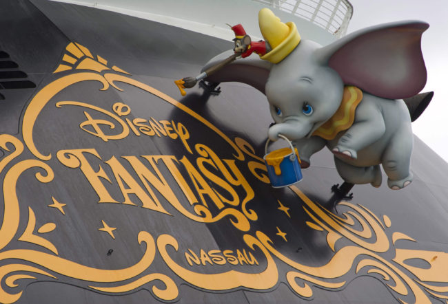 Dumbo and the Disney Fantasy Logo