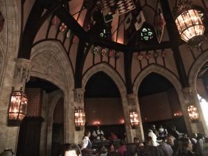 Cinderella's Royal Table banquet hall