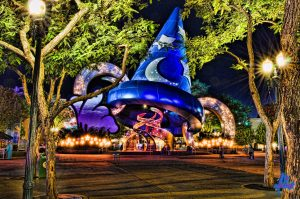 Sorcerer Hat Hollywood Studios - photo by Murtagh Photography