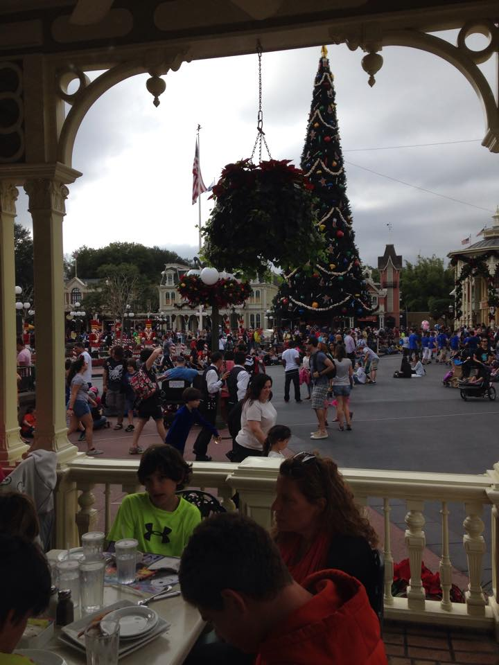 View from patio seating at Tony's Town Square Restaurant. Photo courtesy of Jannis Mcreynolds