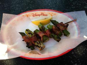 Safari Skewer- Bacon wrapped asparagus