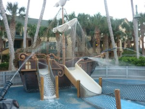 Disney's Vero Beach Resort Pirate Ship