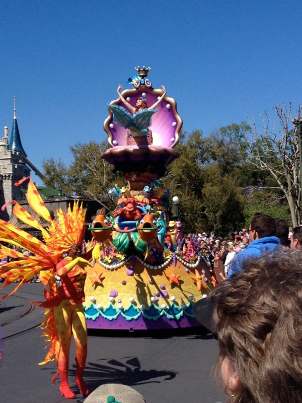 Festival of Fantasy Parade, Ariel
