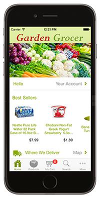 Garden Grocer phone App