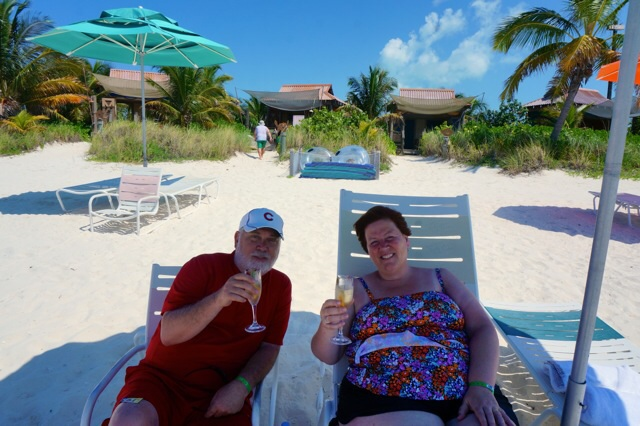 Castaway Cay Private Cabana