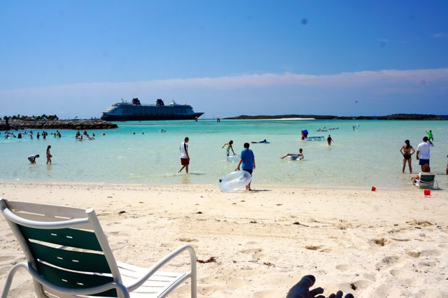 Castaway Cay Private Cabana private beach