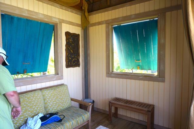 Castaway Cay cabana inside