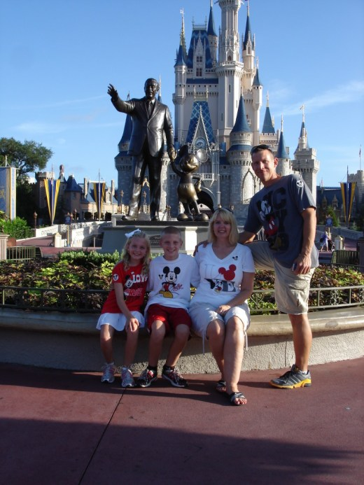 Magic Kingdom Family of the Day