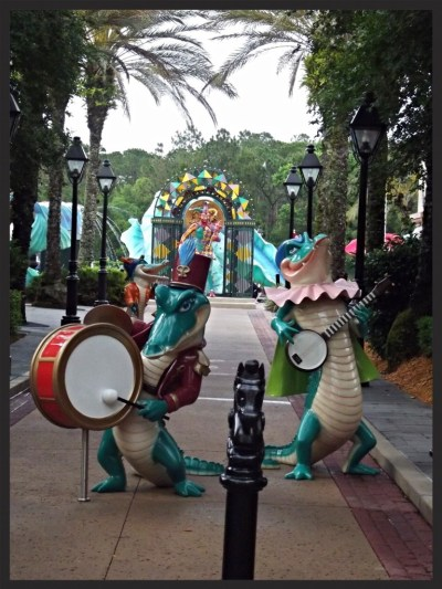 Alligator band - Lisa McBride