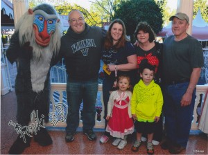 Three generations of Mouseketeers!