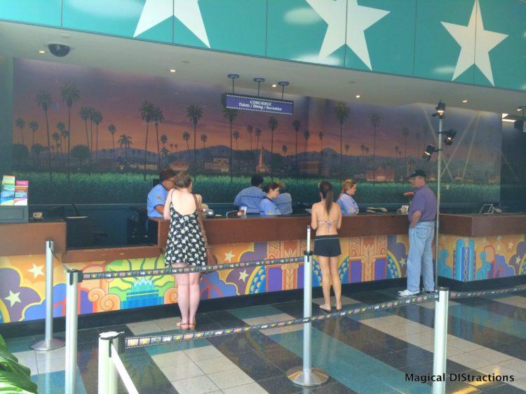 All-Star Movies Resort Concierge Desk