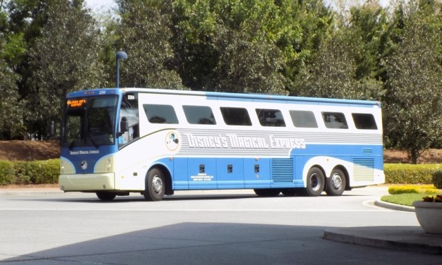 Disney's Magical Express Bus