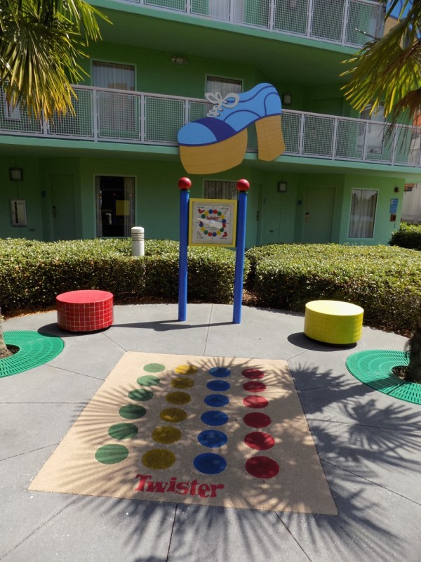 Disney's Pop Century Resort Grounds