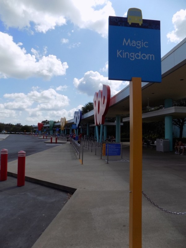 Disney's Pop Century Resort Bus Stops