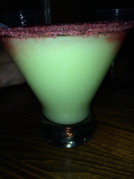 Avocado Margarita at La Cava del Tequila in Epcot