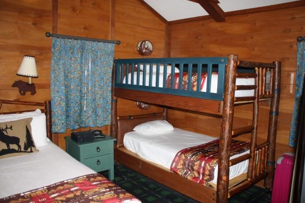 Fort Wilderness Cabins Bedroom
