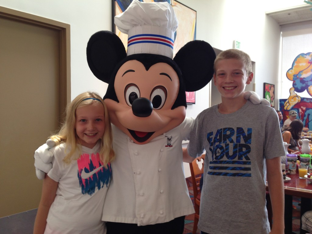 Chef Mickeys in the Contemporary Resort