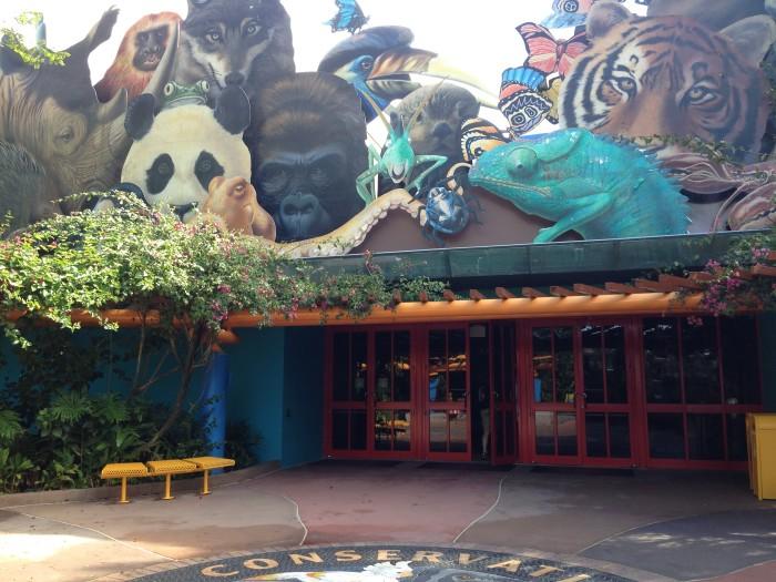 Conservation Station Entrance