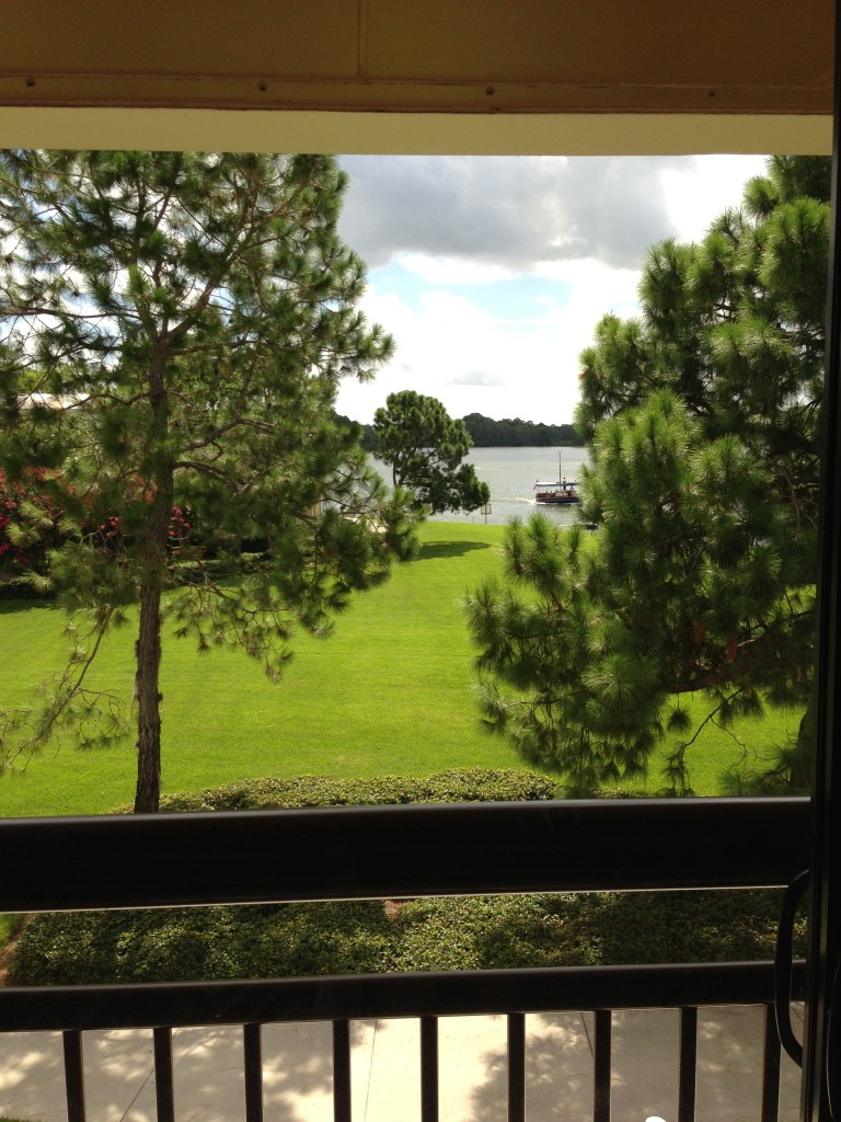 Our view of Bay Lake