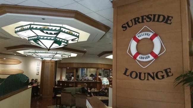 Surfside Lounge Quick Service Paradise Pier Hotel