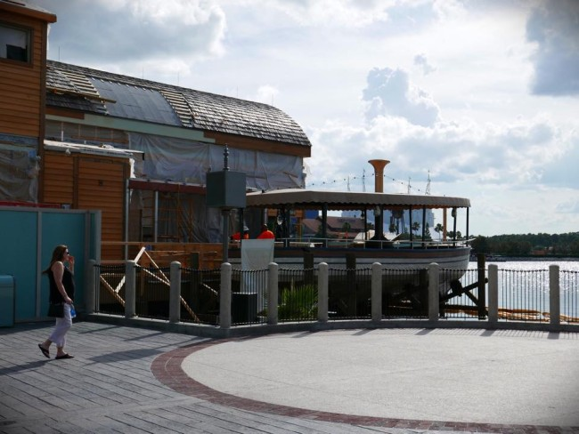 """Guests will be able to dine in a small boat """"hanging"""" off the side of the main restaurant.  Photo by Rachel Horsley"""