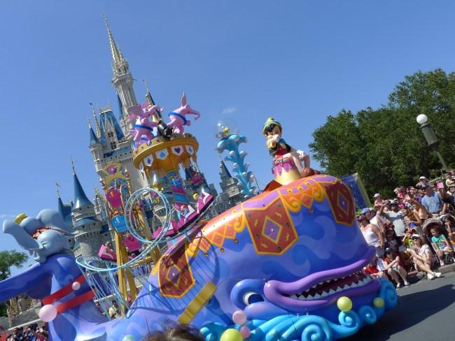 Festival of Fantasy Parade Finale, Pinocchio