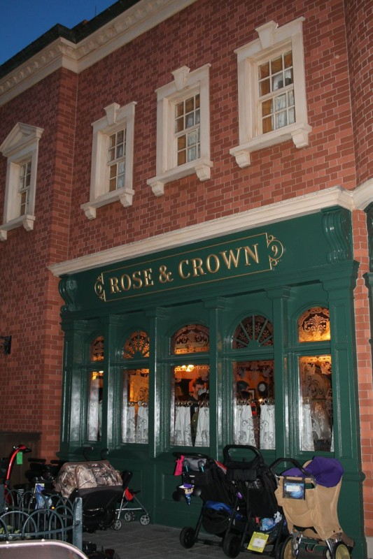 Rose and Crown Exterior