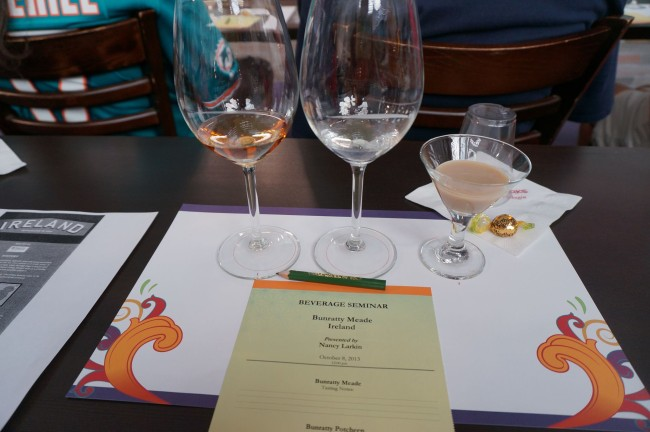 Epcot International Food and Wine Festival Beverage Seminar in Ireland