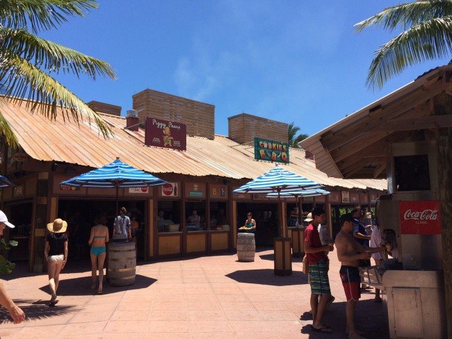 Cookie's BBQ on Castaway Cay
